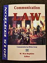 Communication & The Law 2018