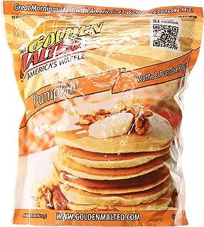 Carbon's Golden Malted Pumpkin Waffle and Pancake Flour, 32 Ounce