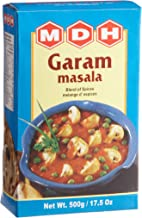 MDH Garam Masala (Blend of Spices), 17.5-Ounce Boxes (Pack of 4)