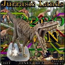 Jurassic Lands - Vegas Video Slot Machine (Kindle Tablet Edition)