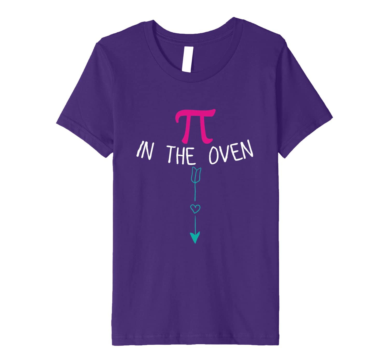 Pregnancy Announcement Pi Day Shirt Math Teacher Baby Shower-Awarplus