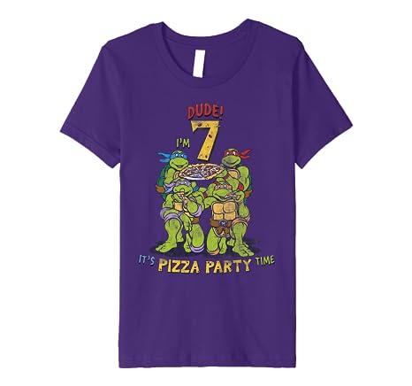 Amazon.com: Teenage Mutant Ninja Turtles Im 7 Dude Pizza ...