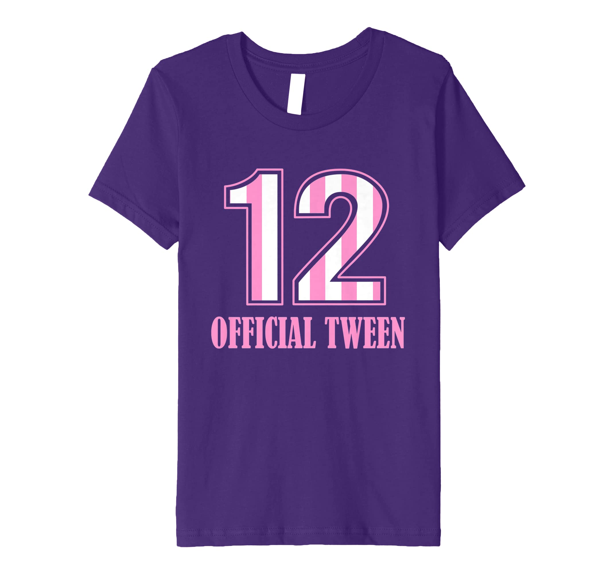ebe8d927c6c4 Amazon.com  12 Official Tween T-Shirt
