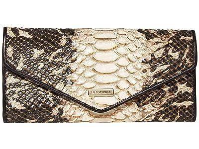 Brahmin Mist Veronica Bifold Wallets (Espresso) Wristlet Handbags