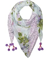 Steve Madden - Coco Floral Patched Day Wrap