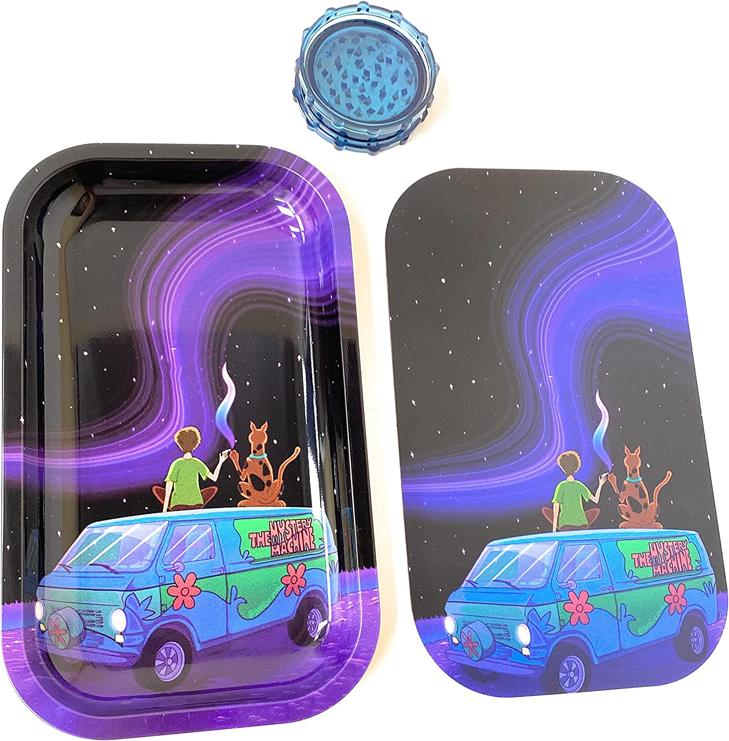 Metal Rolling Tray 11x7 Inches Include Smoking Shaggy Scooby and OFFicial shop 2021 autumn and winter new