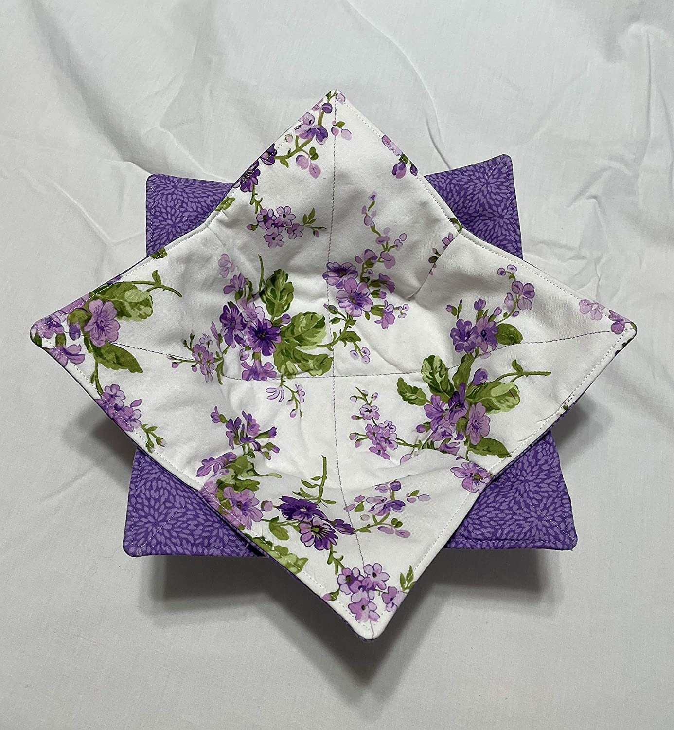 Bowl Cozy Branded goods New product type Purple Floral