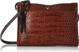 Hidesign Women's Sling Bag(CROCO MEL RANCH TAN BROWN)