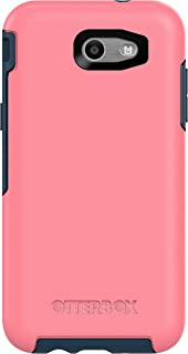 OtterBox 77-54846 SYMMETRY SERIES Case for Samsung Galaxy J3 (2017)/Galaxy Express Prime 2/Galaxy Amp Prime 2/ Galaxy Sol 2/Galaxy J3 Emerge/Galaxy J3 Prime/Galaxy J3 Luna Pro - Retail Packaging - SALTWATER TAFFY (PIPELINE PINK/BLAZER BLUE)