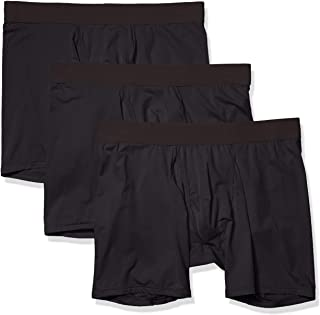 Amazon Brand - Goodthreads Men's 3-Pack Lightweight Performance Knit Boxer Brief