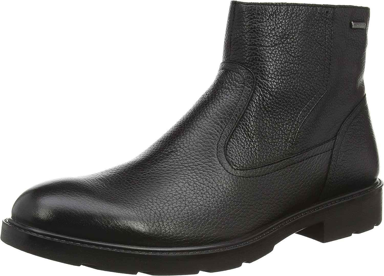 Geox Men's U Rubbiano B ABX H Ankle Boot