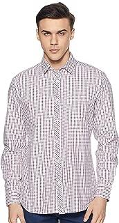 Amazon Brand - Symbol Men's Checkered Regular Fit Full Sleeve Cotton Casual Shirt