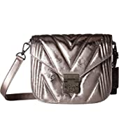 MCM - Patricia Quilted Metallic Shoulder Small