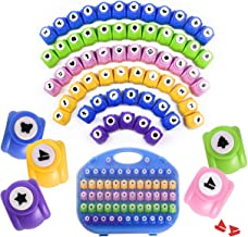 Shape Paper Punch Set | School Scrapbooking Paper Punchers for Arts and Crafts | Hole Punch Shapes That Kids and Adults Ad...