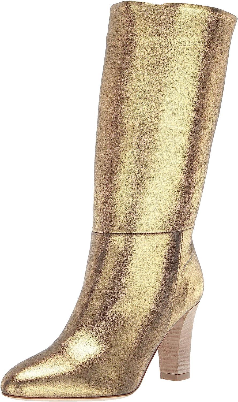 SJP by Sarah Jessica Parker Womens Reign Almond Toe Mid Calf Boot