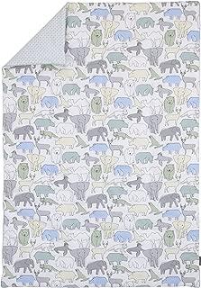 Dwell Studio Caravan Animal Print Comforter, Aqua/Gray/Green/Yellow