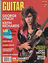 Guitar For The Practicing Musician July 1986 Magazine KEITH RICHARDS SONGWRITING INTERVIEW BY BRUCE POLLOCK George Lynch Interview by John Stix
