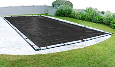 Pool Mate 383060R-PM Black Mesh Winter Pool Cover for In-Ground Swimming Pools, 30 x 60-ft. In-Ground Pool