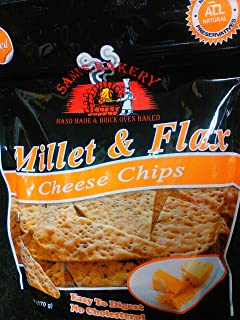 Sami's Millet and Flax Cheese Chips