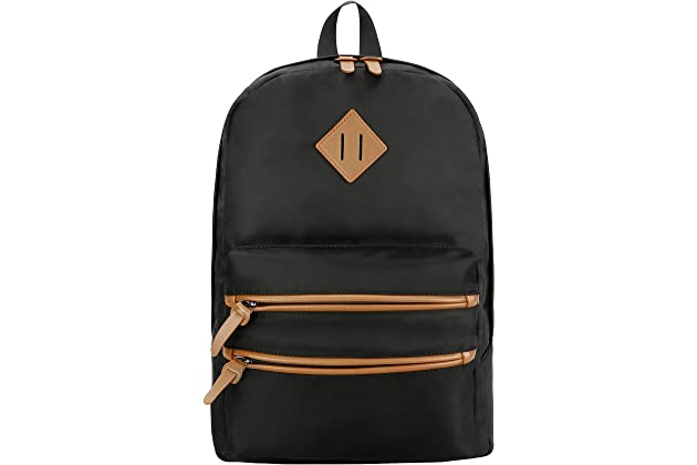 da4b024b6c Gysan Unisex Classic Lightweight Water Resistant Rucksack Travel Backpack  College Book Bags Fit 15 Inch