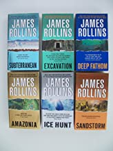Subterranean, Excavation, Deep Fathom, Amazonia, Ice Hunt, Sandstorm (Set of 6 Books)
