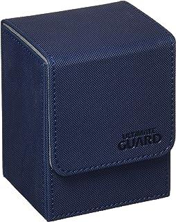 Ultimate Guard Flip Deck Case 80+ XenoSkin Standard Size Blue Card Game