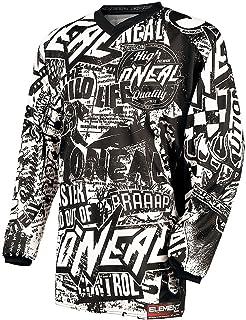 0025R-4 Gr/ö/ße X-Large ONeal Element Kinder Jersey Racewear Orange Mountain Bike Moto Cross Enduro Trikot MTB MX DH