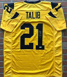 Aqib Talib autographed signed jersey NFL Los Angeles Rams PSA COA