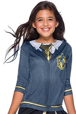 Harry Potter Costume Top, Hufflepuff, Large
