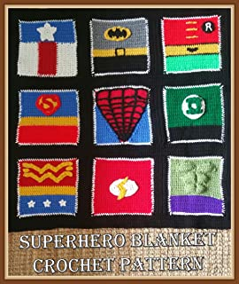 Superhero Blanket Crochet Pattern