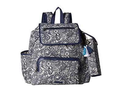 Sakroots Fleetwood Backpack (Navy Spirit Desert) Backpack Bags