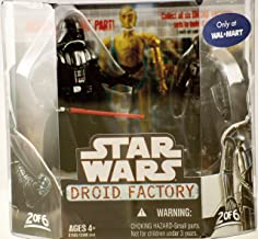 Star Wars Saga 2008 Build-A-Droid Factory Action Figure 2-Pack Darth Vader and K-3PX