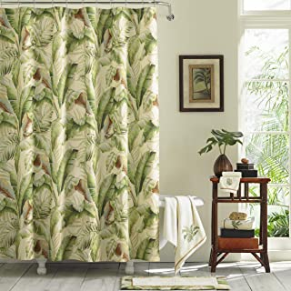 Tommy Bahama Palmiers, Shower Curtain, Medium Green