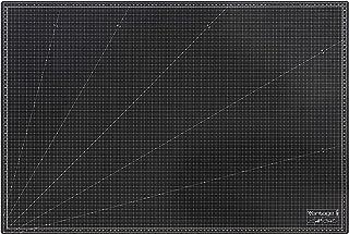 Vantage Mata do cięcia A1 (60 x 90 cm, samoregenerująca, do używania po obu stronach, z siatką), czarna