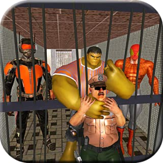 Superheroes Prison Escape: Monster hero Jail Break