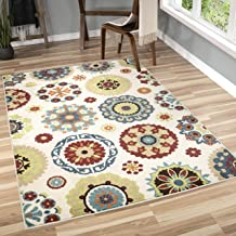 product image for Orian Rugs 2302 Veranda Hubbard Multicolor Area Rug44; 3.83 x 5.41 ft.