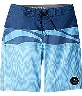 Quiksilver Kids - Heatwave Blocked Beach Shorts (Big Kids)