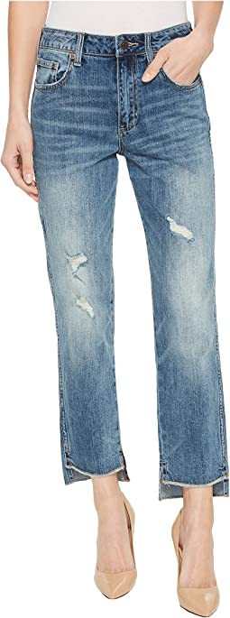 Lucky Brand - High-Rise Tomboy Jeans in Safford Step