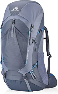 Gregory Mountain Products Women's Amber 55 Backpack,ARCTIC GREY