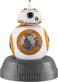 Star Wars BB-8 Droid Bluetooth Speaker with Speakerphone Compatible with iPhone, Samsung, Tablets and All Other Bluetooth ...