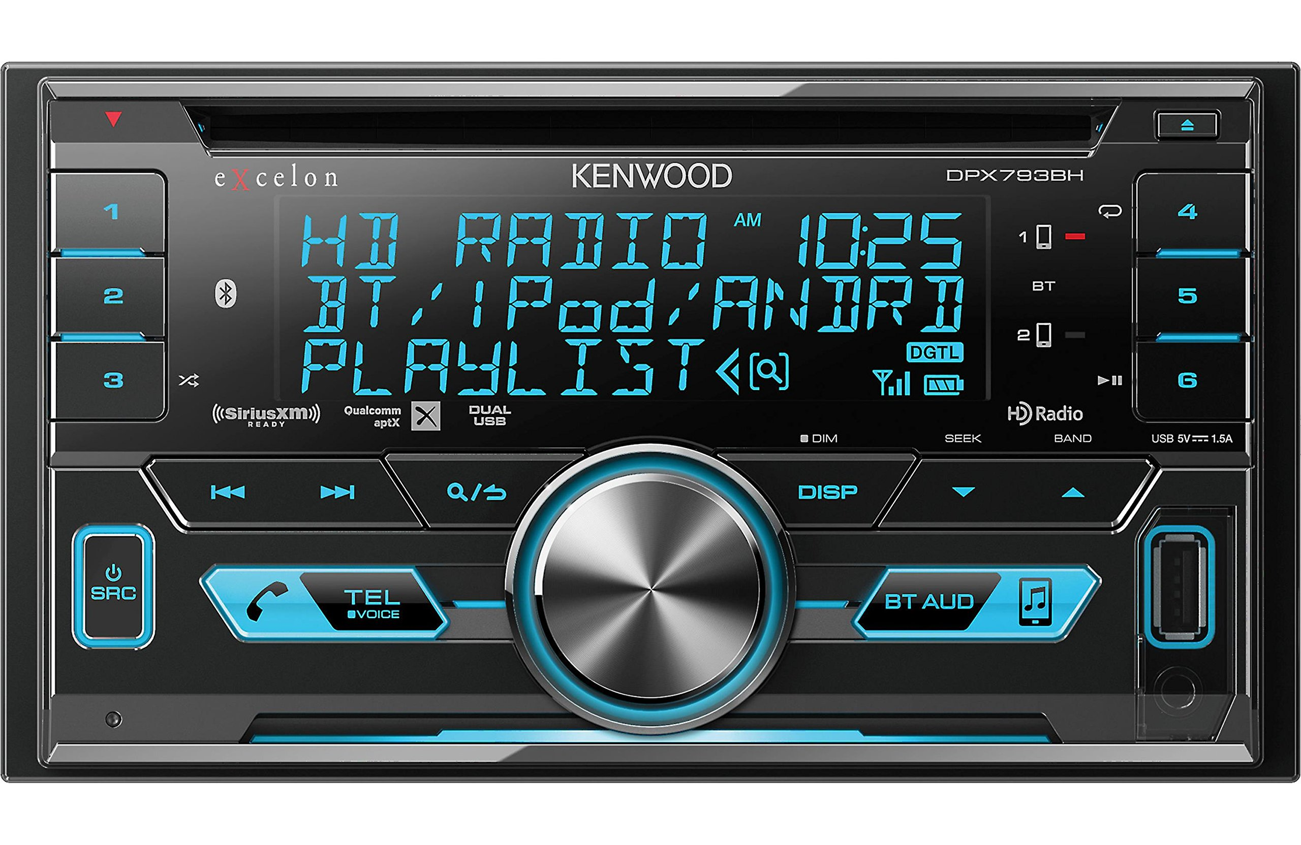 Kenwood Excelon DPX793BH Receiver Bluetooth