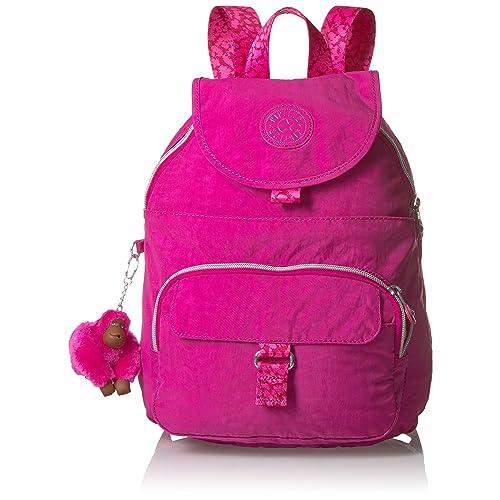 Kipling Queenie Metallic Small Backpack