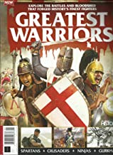 ALL ABOUT HISTORY BOOK OF GREATEST WARRIORS MAGAZINE, ISSUE, 2019 ISSUE # 01 PRINTED IN UK (PLEASE NOTE: ALL THESE MAGAZINES ARE PET & SMOKE FREE MAGAZINES. NO ADDRESS LABEL.) (SINGLE ISSUE MAGAZINE)