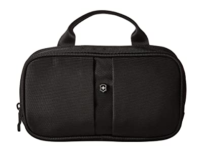 Victorinox Overnight Essentials Toiletry Kit (Black/Black Logo) Toiletries Case