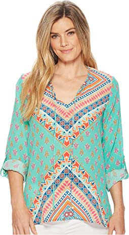 Tolani - Brooke 3/4 Sleeve Blouse