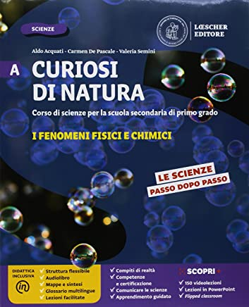 Curiosi di natura. Configurazione per aree tematiche. Per la Scuola media. Con e-book. Con espansione online: A-B-C-D