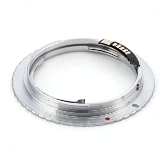 Pixco AF Confirm Focus Infinity Adapter Pentax K Mount PK Lens to Canon EOS Camera (2nd Generation Confirmation Chip)