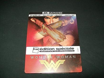 WONDER-WOMAN Ultimate Edition FNAC 4K/3D/2D/DigitalHD/CD B.Originale du film