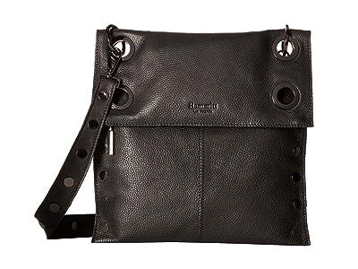 Hammitt Montana Rev Large (Black/Gunmetal) Cross Body Handbags