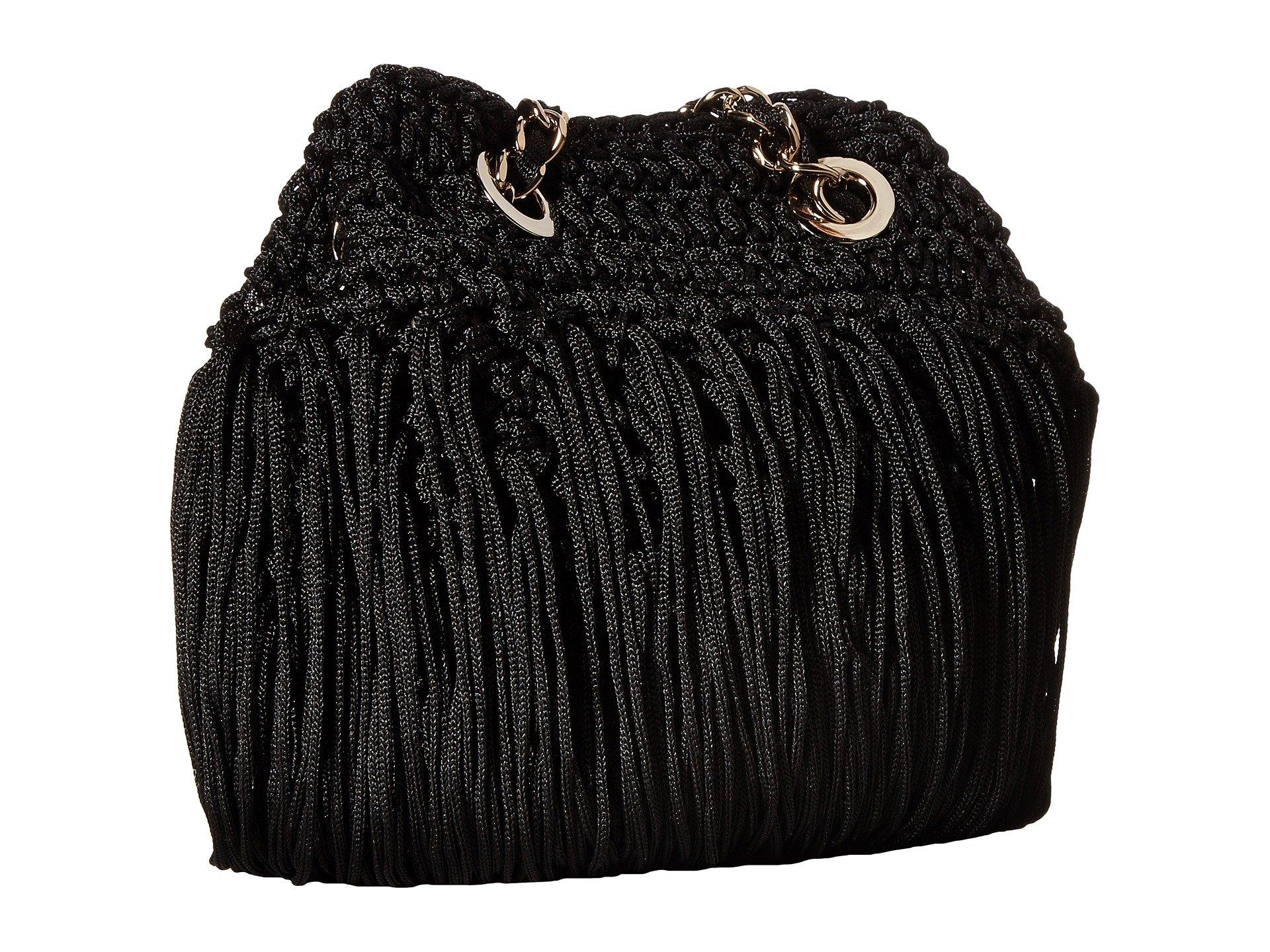 M Fringe Missoni Black M Bag Bag Fringe Missoni Black Missoni M twqBBfI
